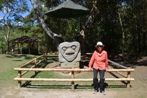 Im Parque Arqueológico in San Agustín