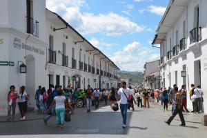 Im Zentrum von Popayán