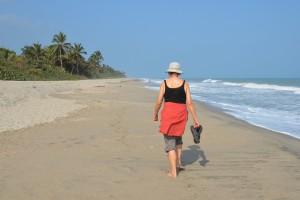 Karibikstrand bei Palomino