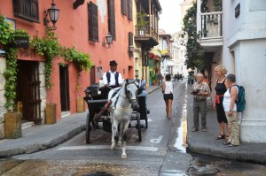 In der Altstadt von Cartagena