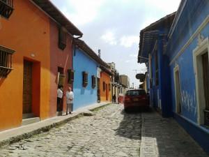 Im Stadtteil La Candelaria, dem historischen Zentrum von Bogotá