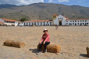 An der Plaza Mayor von Villa de Leyva