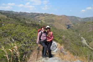 Vor dem Aufstieg zum Paseo del Angel