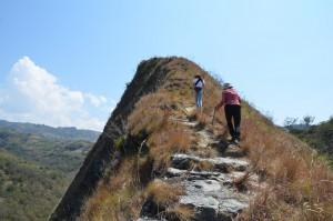 Aufstieg zum Paseo del Angel