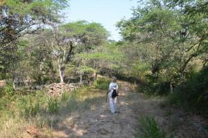 Auf dem Camino Real von Barichara nach Guane (1)