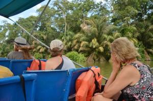 Bootsfahrt nach Tortuguero