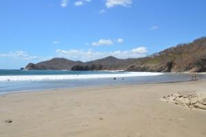 Weißer Sandstrand bei San Juan del Sur