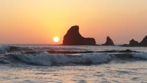Sonnenuntergang am Pazifik bei San Juan del Sur