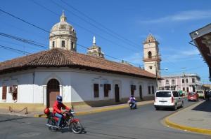 Koloniale Architektur in Granada