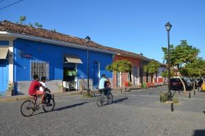Straßenbild im Zentrum von Granada