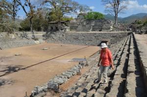 Der östliche Platz von Copán