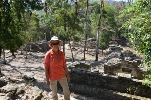 Der südliche Teil der Ruinenanlage von Copán