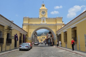 Bogen von Santa Catalina in Antigua