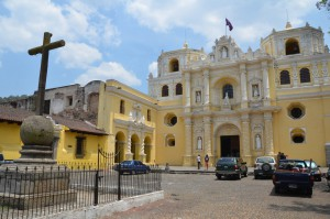Kirche Nuestra Señora de la Merced in Antigua