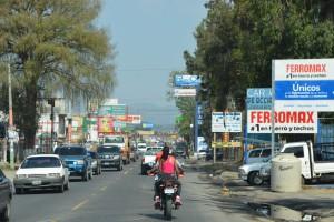 Auf der Panamericana in Guatemala