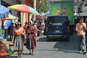 Straßenszene in Santa Cruz del Quiché