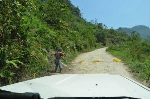 Wegelagerei in Guatemala
