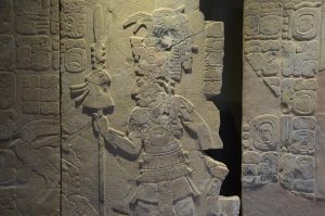 Relieftafel im Museum von Palenque