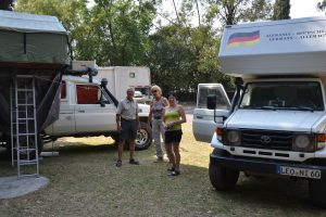 Zusammentreffen mit Wiffe und Irene in Cholula