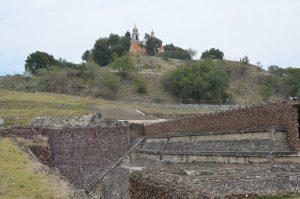 Die Pyramide von Cholula