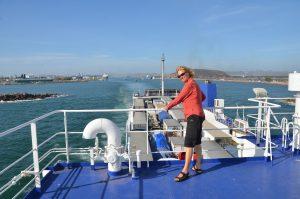 Ausfahrt aus dem Hafen von Mazatlán