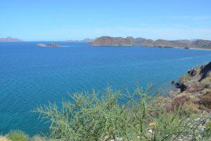 Golf von Kalifornien oder Mar de Cortés südlich von Loreto