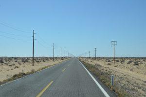Auch richtige Wüste gibt es auf der Baja, die Desierto de Viscaíno.