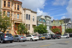 Die für San Francisco so typischen Wohnhäuser (2)