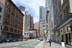Zentrum von San Francisco