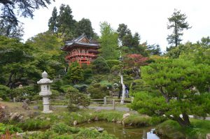 Kyoto in Japan? Nein, das Japanese Tea House im Golden Gate Park in San Francisco