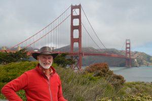 Vor der Golden Gate Bridge