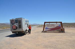Eingang zum Death Valley National Park