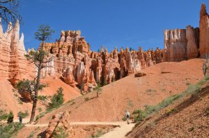 Auf dem Queens Garden Trail im Bryce Canyon National Park