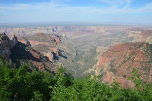 Grand Canyon vom Walhalla Plateau aus gesehen