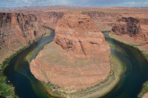 Horseshoe Bend unterhalb des Glen Canyon Dams