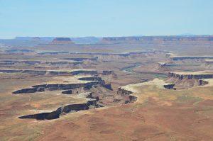 Der Green River, einige Meilen vor dem Zusammenfluss mit dem Colorado