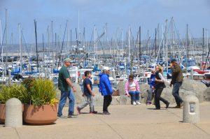 Am Yachthafen von Monterey