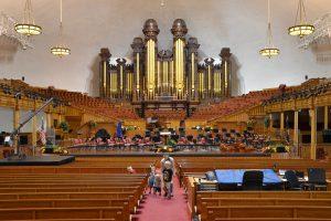 Im Innern des Mormon Tabernacle