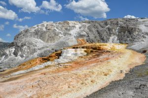 Sinterterrassen von Mammoth Hot Springs (1)