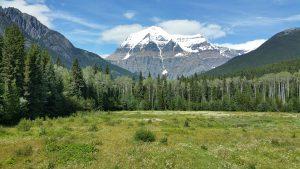 Der Mt. Robson, der höchste Berg der kanadischen Rocky Mountains