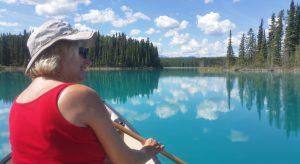 Kanu-Tour auf dem Boya Lake