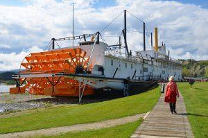 Die S.S. Klondike ist eine von Parks Canada verwaltete National Historic Site.