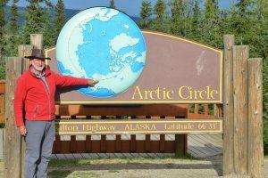 Der Polarkreis ist erreicht.