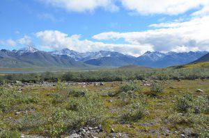 Blick von Norden auf die Brooks Range