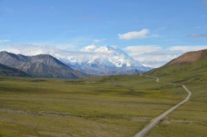 Der Denali, mit 6.190 m höchster Berg Nord-Amerikas