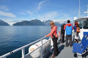 Auf dem Weg zum Holgate Glacier