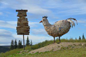Der Goldgräber-Ort Chicken