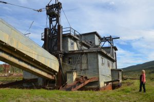Alte Gold-Dredge
