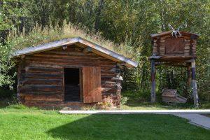 Blockhütte von Jack London