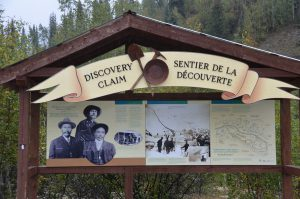 Der Discovery Claim ist der Ort, an dem der Goldrausch am Klondike seinen Anfang nahm.